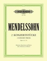 2 Concert Pieces Op. 113 Op. 114