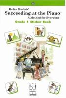 Succeeding at the Piano® , Sticker Book - Grade 1