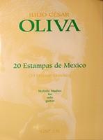 20 Estampas de Mexico