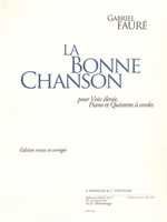 La Bonne Chanson Score And Parts Hv/Pno/St Quintet