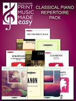 2018 Classical Piano Repertoire Pack