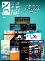 2018 Pop Piano Songbooks Pack