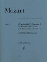 Wunderkind Sonatas Vol. 2 K 10 - 15