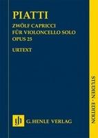 12 Capricci for Cello Solo Op. 25