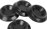 Upright Piano Caster Cups Black