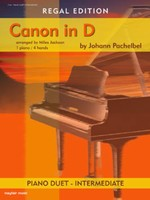 Canon In D 1P4h Piano Duet
