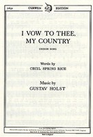 Holst I Vow To Thee My Country Vce/Pno