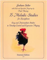 35 Melodic Studies for Saxophone