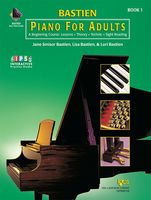 Piano for Adults, Book 1 (Book & 2-CD)