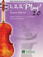 1, 2, 3, Play! 2.0 - Cello Teacher Score and Parts with CD
