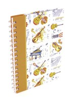 A5 Spiral Bound Lined Pages Notebook