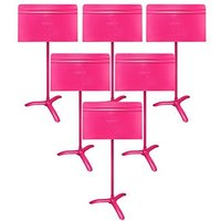 MUSIC STAND SYMPHONY HOT PINK 6 STANDS