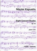 Eight Concert Etudes Op. 40