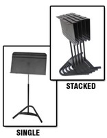 MUSIC STAND HARMONY ABS DESK 6 STANDS