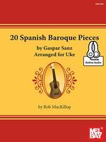 20 Spanish Baroque Pieces Gasper Sanz Bk/Cd