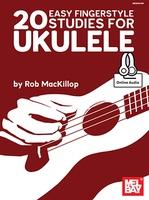 20 Easy Fingerstyle Studies for Ukulele Bk/Oa