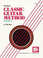 Classic Guitar Method Vol. 2 Bk/Oa