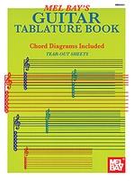 Guitar Tablature Book  (Treble Clef & Tab)