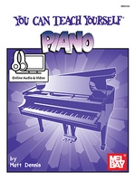 You Can Teach Yourself Piano Bk/Dvd