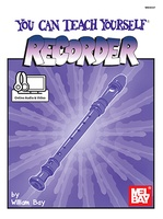 You Can Teach Yourself Recorder Bk/Cd