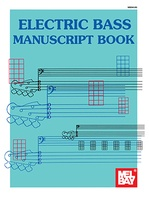 Electric Bass Manuscript Tab & Notation 32 Pages