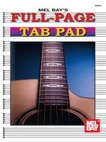 Manuscript A4 Full Page Tab Pad