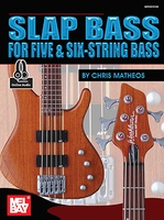 Slap Bass For Five And Six String Bass Bk/Cd