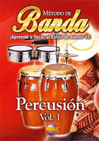 Banda Percussion Vol. 1 Spanish Only