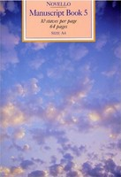 Novello Manuscript Book 5 A4 Spiral