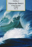 Novello Manuscript Book 6 A4 Spiral