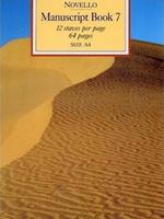 Novello Manuscript Book 7 A4 Spiral