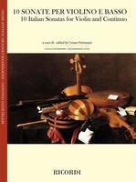 10 Italian Sonatas for Violin and Continuo
