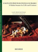 10 Italian Sonatas for Cello and Continuo