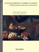 10 Italian Sonatas for Recorder and Continuo
