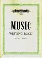 Peters Music Writing Book