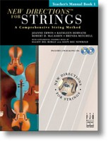 New Directions® For Strings, Teacher's Manual Book 1