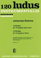 12 Etudes for Trumpet or Horn