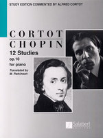 12 Studies Op. 10 for piano - English Text