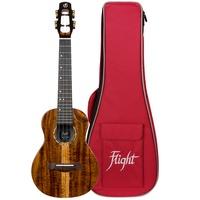 Flight Spirit Concert EQ Ukulele with Bag