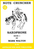 Note Cruncher for Saxophone Book 1