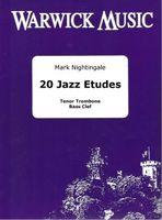20 Jazz Etudes Bass Clef
