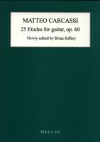 25 Etudes for Guitar Op. 60