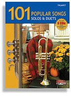 101 Popular Songs for Trumpet: Solos & Duets with 3 CDs