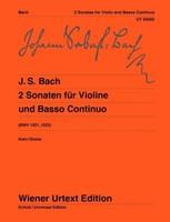 2 Sonatas G major BWV 1021 & E minor BWV 1023