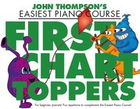 Easiest Piano Course - First Chart Toppers