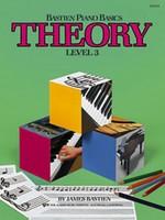 Bastien Piano Basics, Theory, Level 3