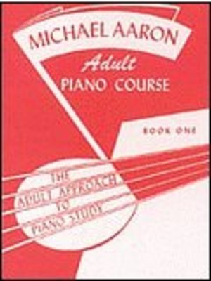 AARON ADULT PIANO COURSE BK 1