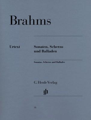 Cheap music books brahms sonatas scherzo and ballades urtext fandeluxe Images