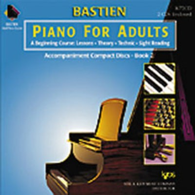 PIANO FOR ADULTS BK 2 2CD SET ONLY