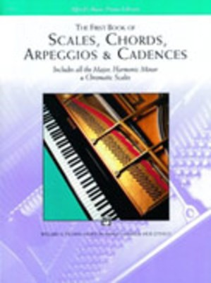 ABP FIRST BOOK OF SCALES CHORDS ARPEGS & CADENCES